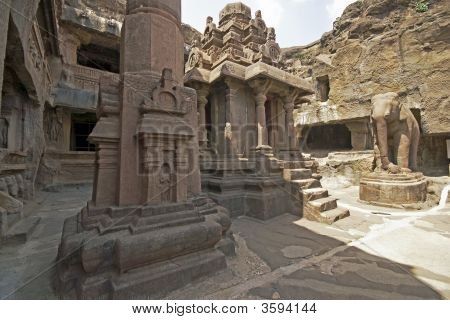 Courtyard Of Ancient Jain Temple