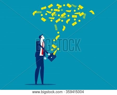 Floating Exchange Rate. Concept Financial Vecto Rillustration. Currency, Money, Floating
