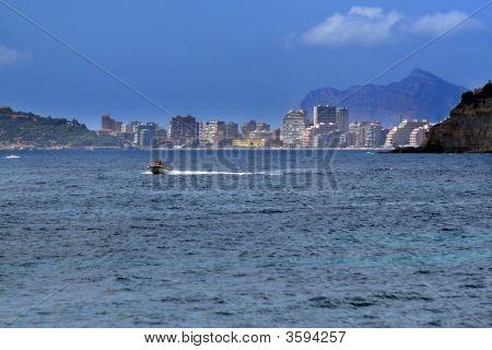 Sailing in Mediterranean sea
