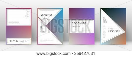 Flyer Layout. Stylish Fine Template For Brochure, Annual Report, Magazine, Poster, Corporate Present