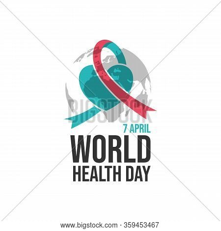 World Health Day Vector Design Background