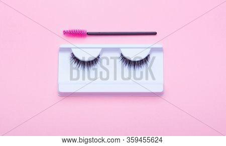 False eyelashes brushes tools eyelash extension accessories