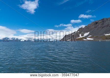 Sea Antarctica Iceberg Coast In Antarctica South Pole
