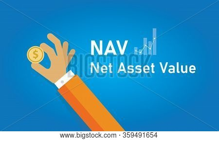 Nav Net Asset Value The Net Value Of An Entity And Is Calculated As The Total Assets Minus Liabiliti