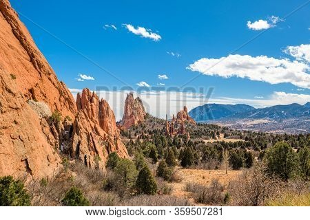 Garden of the Gods, Colorado Springs, Colorado, USA.