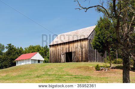 Barns At Thomas Stone House In Maryland