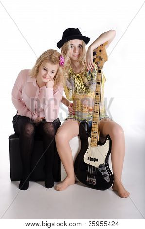 Two Girls And A Guitar