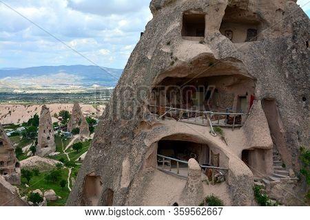 Cappadocia, Anatolia, Turkey. Open Air Museum, Goreme National Park