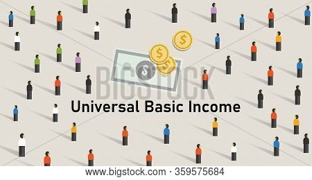 Universal Basic Income Ubi Is Government Guarantee For Citizen Receives A Guaranteed Minimum Income.
