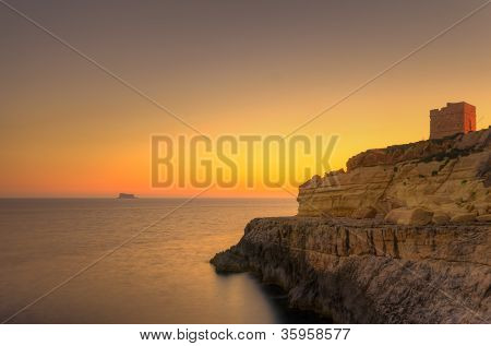 Sunset In Zurrieq