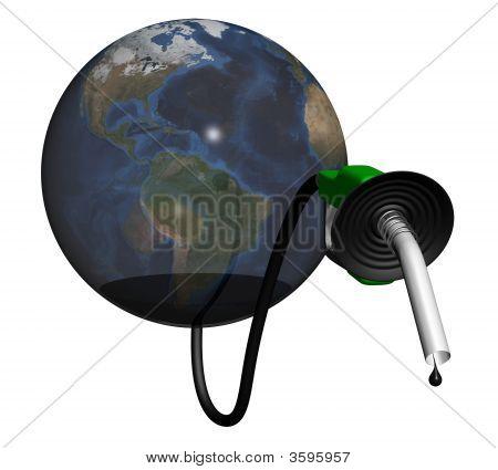 Earth Oil Shortage