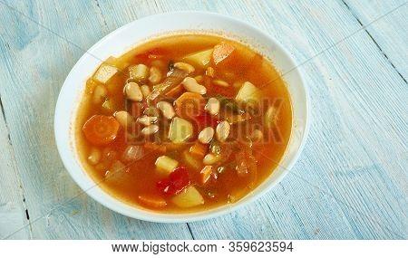 Israeli White Bean Soup