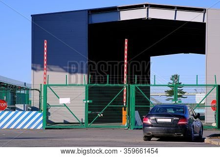The State Border Crossing Point Is Closed. A Quarantine Regime Has Been Introduced Due To The Pandem