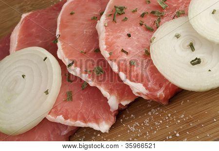 Pork Chops Raw