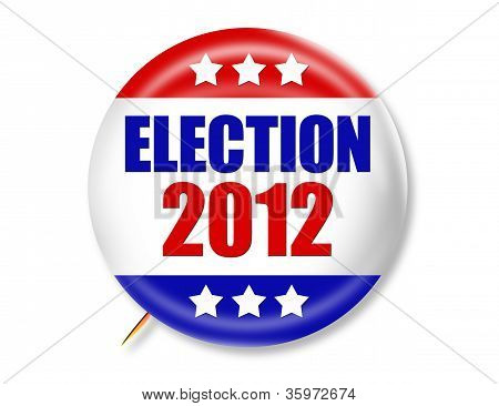 Election 2012 Button