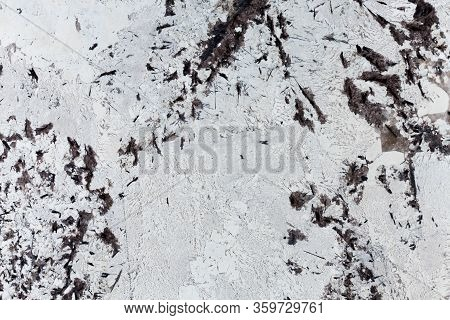 Black And White Granite Texture. Perfect Background For Your Elegant New Design.