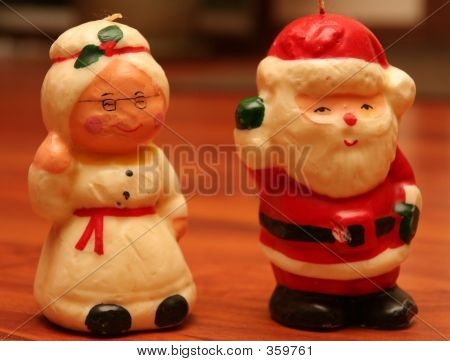 Mr. And Mrs. Claus - Santa Claus Christmas Ornament