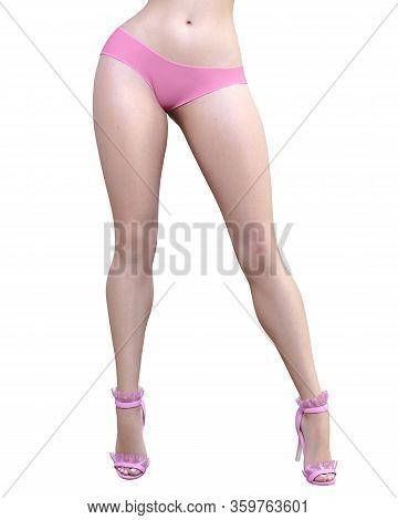 Beautiful Sexy Female Legs.