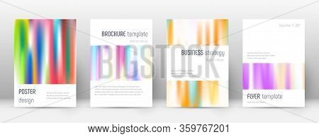 Flyer Layout. Minimalistic Flawless Template For Brochure, Annual Report, Magazine, Poster, Corporat