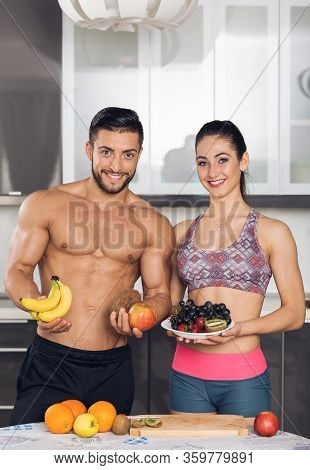Abs, Apple, Background, Banana, Carbs, Cocos, Couple, Cut, Diet, Eat, Fit, Fitness, Food, Fruit, Gra