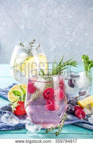 Fruit And Berries Gin Tonics