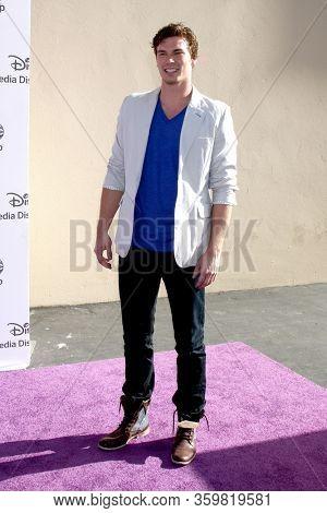 LOS ANGELES - MAY 19:  Derek Theler at the Disney Media Networks International Upfronts at the Walt Disney Studios on May 19, 2012 in Burbank, CA