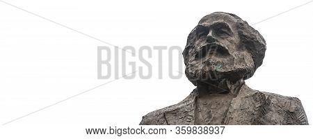 Trier, Germany - September 13, 2019: Statue Of Famous Communist Karl Marx In Trier, Germany