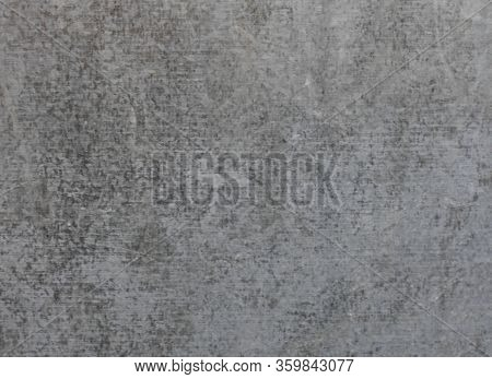 Zinc Galvanized Grunge Metal Texture Background. Close-up Of A Old Galvanized Gray Zinc Steel Plate
