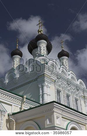 Holy Trinity Church Ivangorod Leningrad region Russia poster