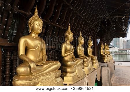 Sri Lanka Seema Malaka Is A Buddhist Temple Used For Meditation And Rest And For Worship. Situated I