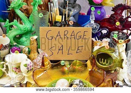 Garage Sale Yard Sale.
