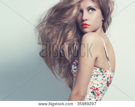 Young Beautiful Lady