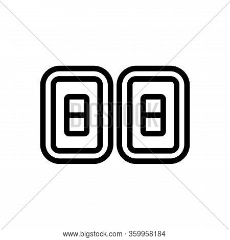 The Score Of The Game Icon Vector. The Score Of The Game Sign. Isolated Contour Symbol Illustration