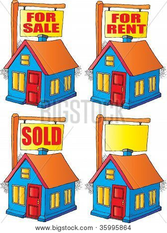 House For Sale, Rent or Sold.