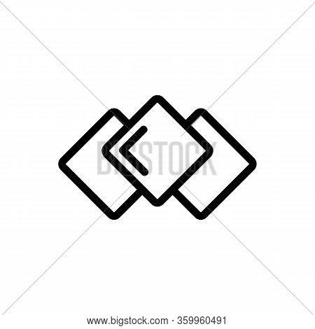 Nori Is Tasty Icon Vector. Nori Is Tasty Sign. Isolated Contour Symbol Illustration