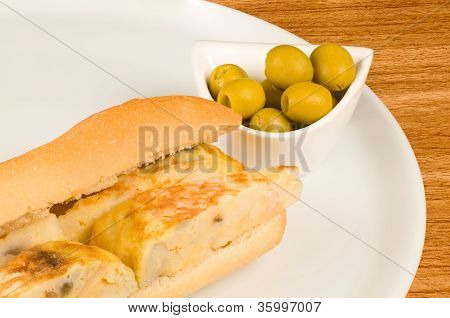 Tortilla And Olives