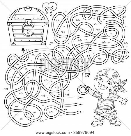 Free Coloring Page Pirates - Coloring Home | 470x450