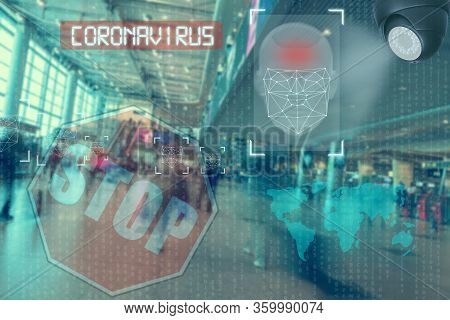 Face Recognition System, Detection Of People Who Violate Quarantine During An Epidemic. Concept For