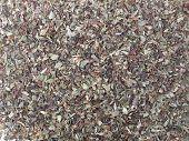 Wild marjoram origanum spice used in mediterranean area poster
