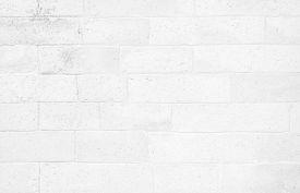 White Brick Wall Texture Background. Brickwork Or Stonework Flooring Interior Rock Old Pattern Clean