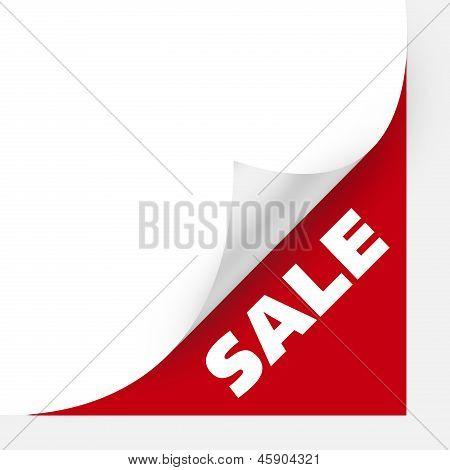 Sale Curved Corner Paper