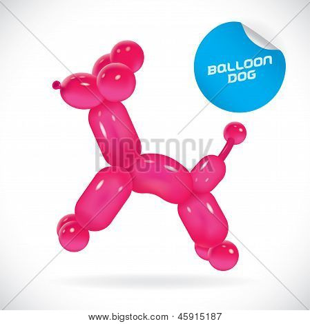 Balloon Dog Illustration