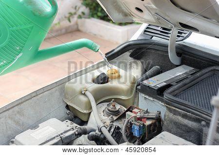 Old Car Inside