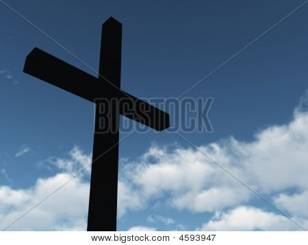 Cross & Clouds