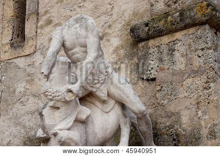 Statue Of Chateau De Vizille