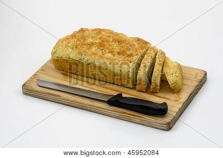 Soda Bread  Sliced 01-board