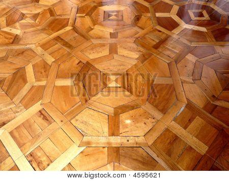 Ornate Wooden Floor