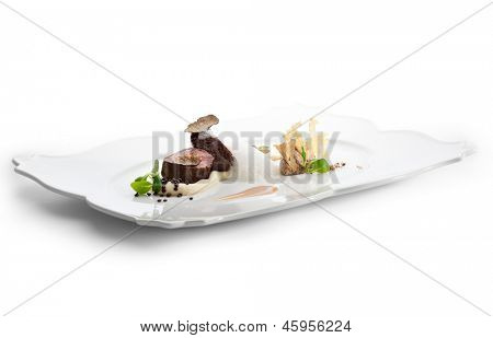Veal Filet Mignon with Truffle Mash