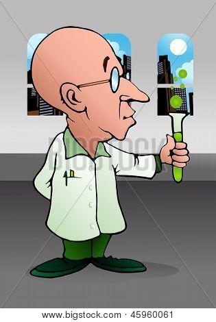 Bald Scientist Experiment