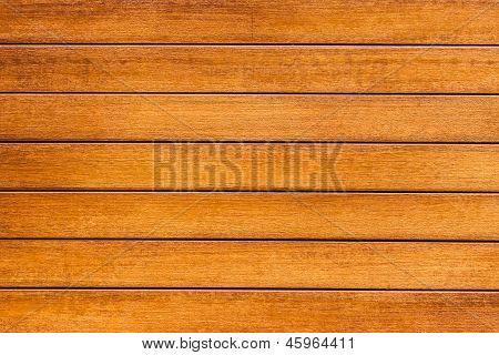 Brown Wood Background In Horizontal Pattern